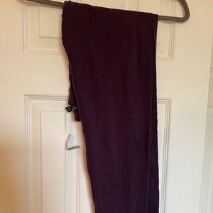 Dark Purple Leggings
